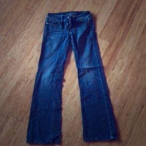 American eagle bootcut jeans. 2 long.